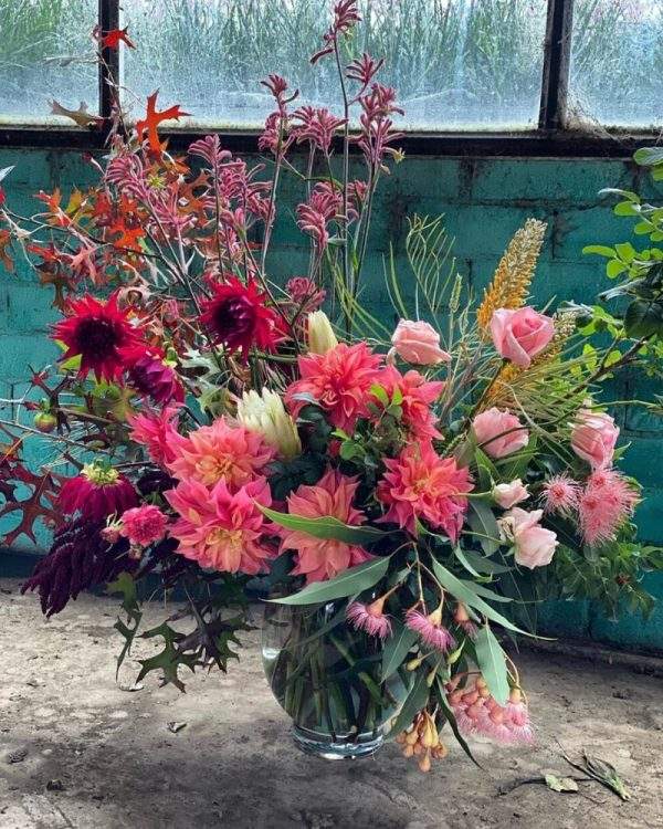 Bright bold and native from Jonima Flower Farm