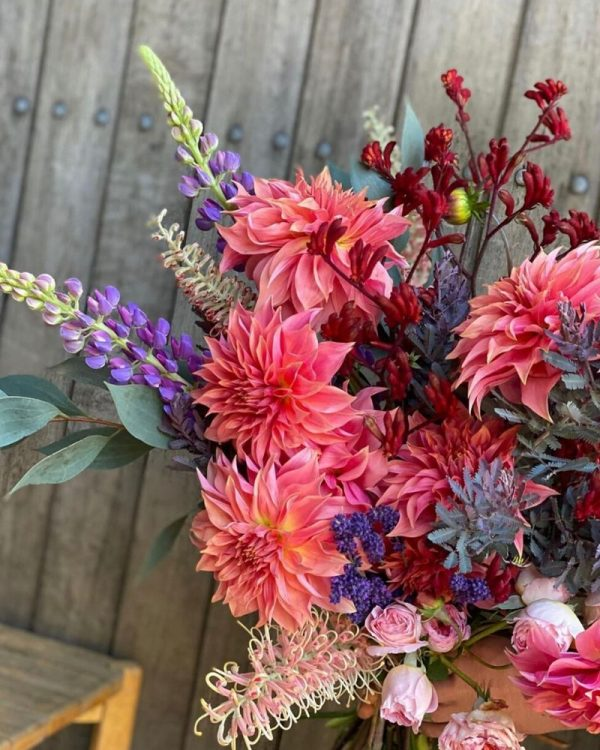 Gorgeous blooms sourced locally in southern highlands