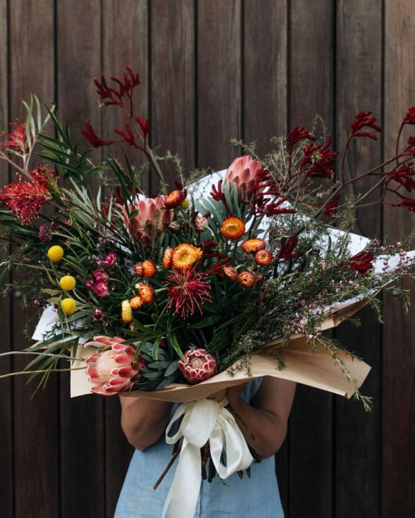 Native flowers grown locally and delivered in southern highlands